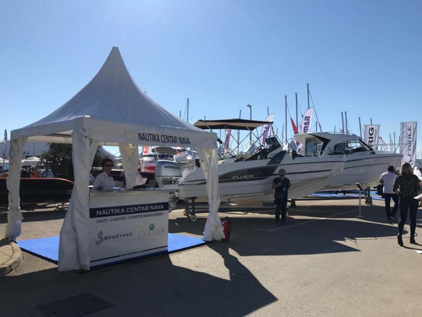 Nava stand at Biograd Boat Show