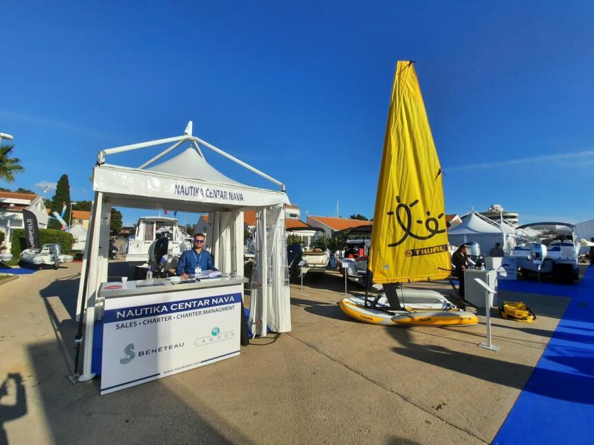 nautika centar nava at the biograd boat show