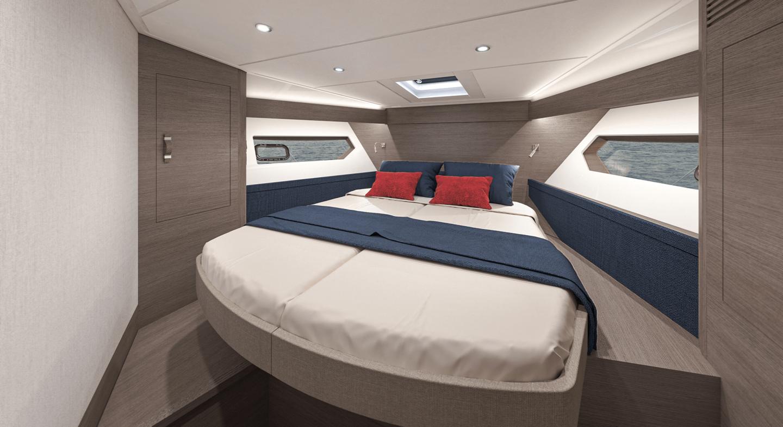 gran turismo 45 - bow cabin