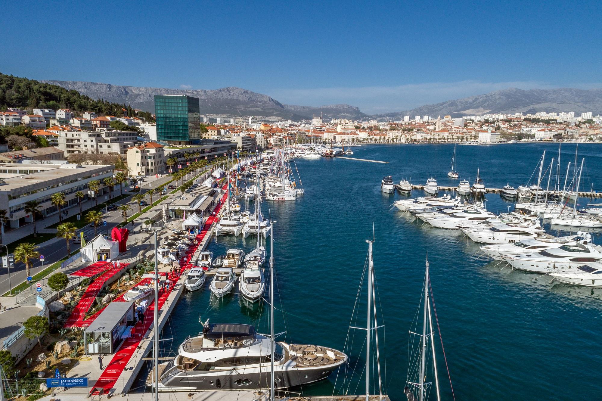 Monte Carlo Yahts Croatia at Croatia Boat Show 2018 with MCY