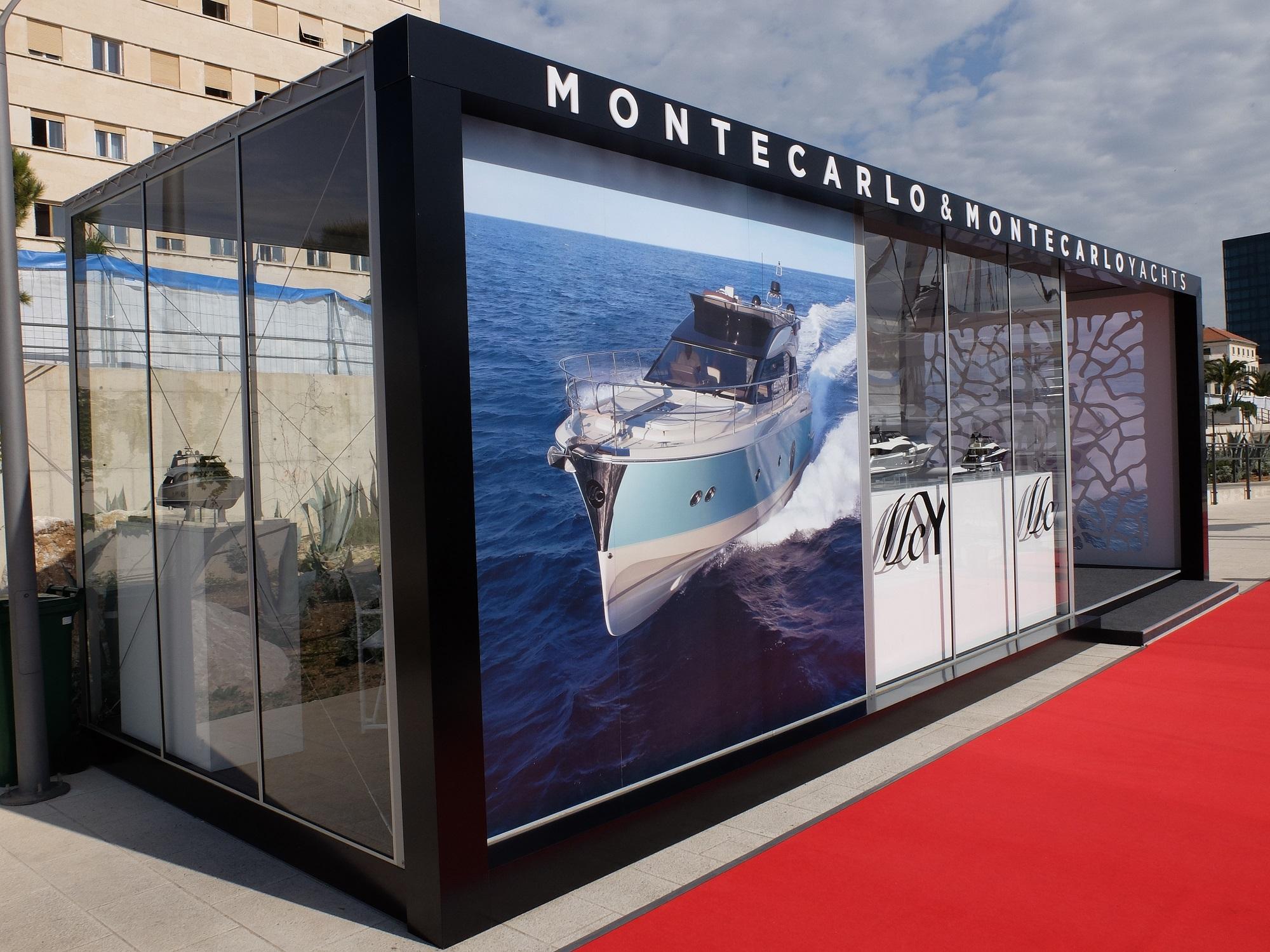 Monte Carlo Yachts Croatia Lounge at Croatia Boat Show 2016