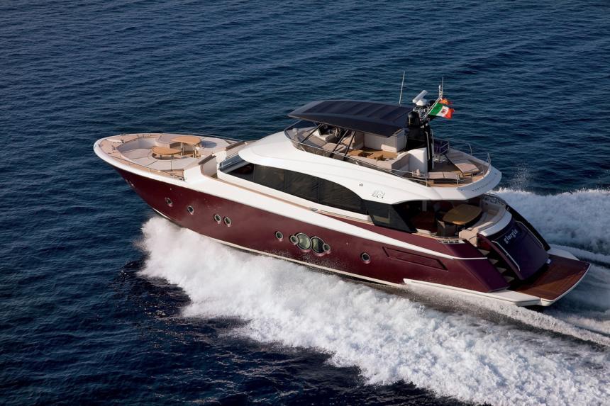 MCY 76 Croatia Boat Show 2018